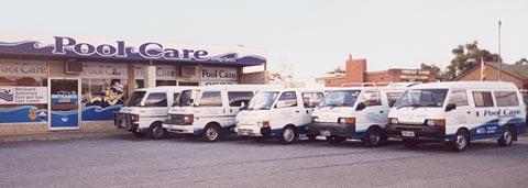 Shop Front and Vans